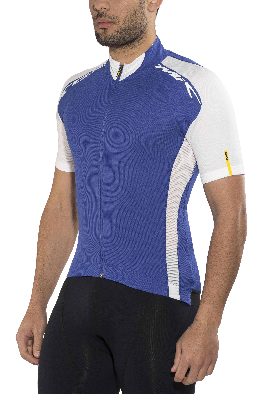 135c27074 Mavic Cosmic Elite Bike Jersey Shortsleeve Men blue at Bikester.co.uk